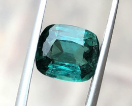 2.90 Ct Natural Blueish Green  Tourmaline Gemstone
