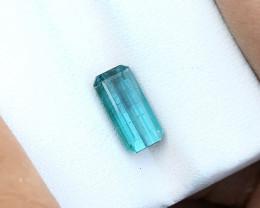 2.30 Ct Natural Blueish Transparent Tourmaline Ring Size Gemstone