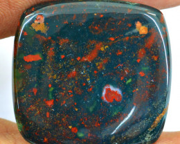 Genuine 50.00 Cts Bloodstone Cabochon