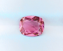 1.90 Ct Natural Pinkish Transparent Tourmaline Gemstone