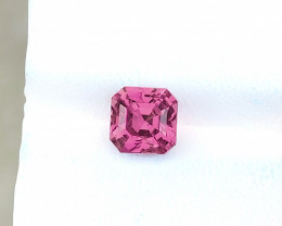 2.35 Ct Natural Pinkish Transparent Tourmaline Gemstone