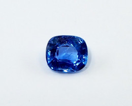 Unheated blue sapphire from Myanmar