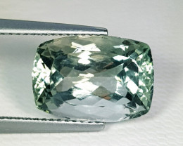 7.25ct Top Quality Awesome Rectagle Cut Natural Green Amethyst