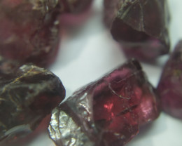 500Ct Natural Rhodolite Garnet Facet Rough Parcel (reserved for customer)