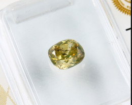 0.71ct Natural Fancy Deep Yellow Diamond GIA certified