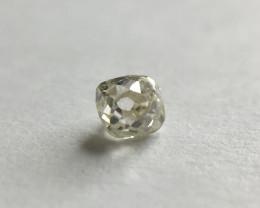 0.08 Q-R I1 Old Mine Square Brilliant cut diamond vintage antique