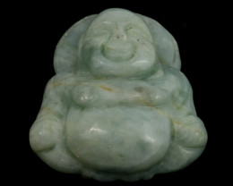 33.9g Burmese Jade Buddha Carving