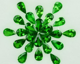 5.00Ct Nice Green Natural Tsavorite Garnet Pear 5 X 3mm Parcel