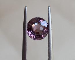 Greyish purple spinel