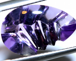 5 CTS -AMETHYST  CARVING    LG-40