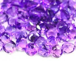 Amethyst 15.09Ct 95Pcs Natural Uruguay VVS Electric Purple Amethyst 16AF469