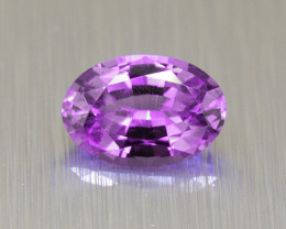 Ceylon Purple Sapphire 0.69ct  well-cut & good brilliance (01656)