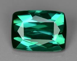 1.01 Carat No Treatment AAA Greenish Blue Color Natural Tourmaline Gemstone
