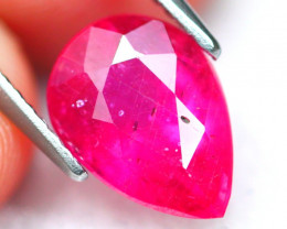 Ruby 3.55Ct Vivid Red Mozambique Red Ruby 16AF503