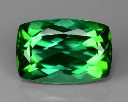 1.44 Carat No Treatment AAA Green Color Natural Tourmaline Gemstone