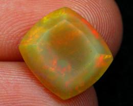 Welo Opal 3.29Ct Natural Multi Color Ethiopian Opal 16AF507