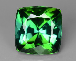 1.23 Carat No Treatment AAA Green Color Natural Tourmaline Gemstone