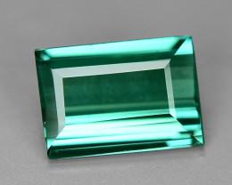 0.72 Carat No Treatment AAA Greenish Blue Color Natural Tourmaline Gemstone