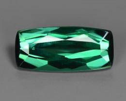 0.94 Carat No Treatment AAA Green Color Natural Tourmaline Gemstone