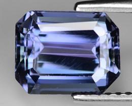 2.88 Carat Violetish Blue Color Natural Tanzanite Loose Gemstone