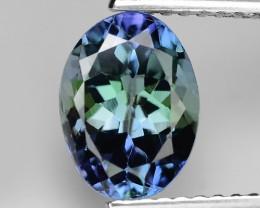 2.07 Carat Violetish Blue Color Natural Tanzanite Loose Gemstone