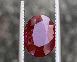 GFCO Certified 3.09 Carat Ruby Gemstones