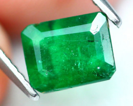 Emerald 1.17Ct Natural Zambian Imperial Green Emerald 16AF552