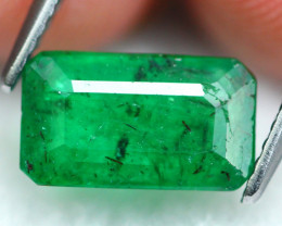 Emerald 1.95Ct Natural Zambian Imperial Green Emerald 16AF554