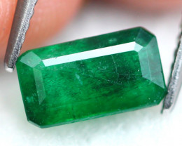 Emerald 1.59Ct Natural Zambian Imperial Green Emerald 16AF555