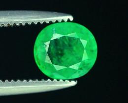 Top Color 0.50 ct Natural Emerald~Panjshir Afghanistan