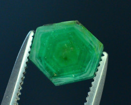 Top Grade 0.85 ct Swat Emerald Trapiche