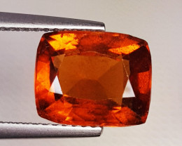 4.30 ct Top Quality Gem Oval Cut Top Luster Hessonite Garnet
