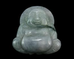 114.5ct. Burmese Jade Buddha Pendant No Reserve