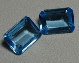 1.90CRT BEAUTY PAIR SKY BLUE TOPAZ-