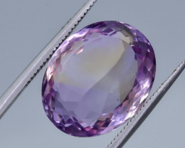 12.98 Crt Natural Ametrine Faceted Gemstone.( AB 12)
