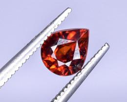 1.55 Crt Natural Spessartite Garnet Faceted Gemstone.( AB 12)