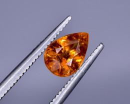 1.25 Crt Natural Spessartite Garnet Faceted Gemstone.( AB 12)