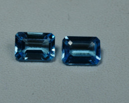 2.20CRT BEAUTY PAIR SKY BLUE TOPAZ