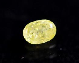 0.23cts Natural UNHEATED  YellowWish Diamond / AK298
