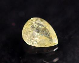 0.19cts Natural UNHEATED  YellowWish Diamond / AK300