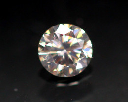 0.18cts Natural UNHEATED  YellowWish Diamond / AK303