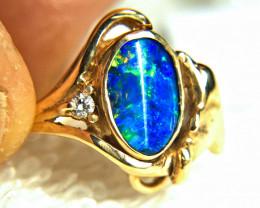 26.99 Tcw. 14 Carat Gold Ring, Natural Opal - Sz. 6.25