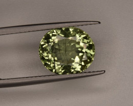 4.20 Crt Rutile Peridot From Pakistan Top Collection