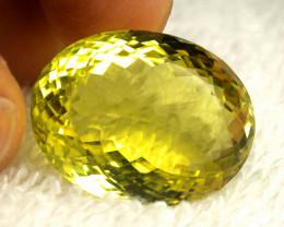 48.97 Carat Natural African Lemon Quartz - Gorgeous