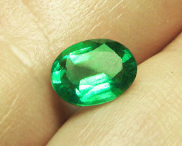 1.21 ct Top Of The Line Zambian Emerald Certified!