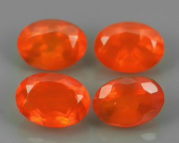 2.40 CTS BEST QUALITY~TOP COLOR EXTREME WONDER LUSTROUS GENUINE FIRE OPAL!
