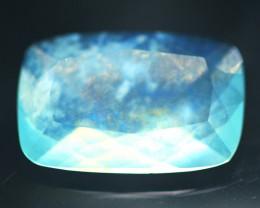 Paraiba Opal 1.42Ct Natural Peruvian Paraiba Blue Color Opal 17AF580