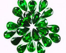 5.15 Cts Natural Vivid Green Tsavorite 5x3mm Pear Parcel Kenya
