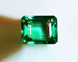 2.63 ct Splendid Top Of The Line Emerald Certified!