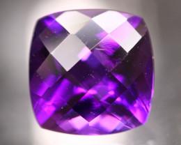 Amethyst 3.88Ct Natural Uruguay VVS Electric Purple Amethyst 17AF619